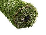 Golden Moon erba artificiale tappeto indoor/outdoor realistico verde decorativo erba artificiale TURF tappeto sintetico 25mm altezza pelo 0.91mx1.52m, PP, 0.9mx1.5m l 3'x5'