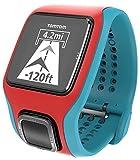 TomTom Runner Cardio GPS-Sportuhr türkis/rot - 3