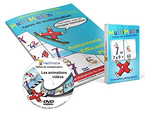 Math Coffret de multiplication Multimalin