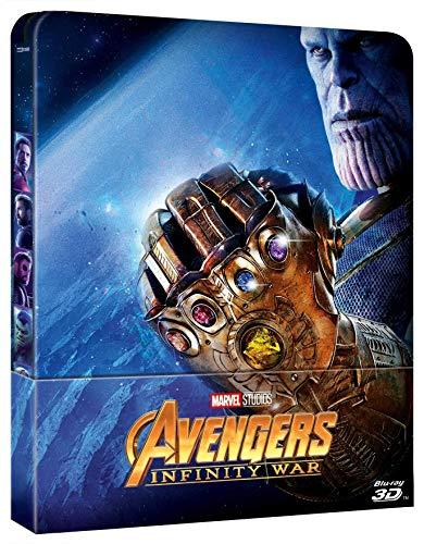 Avengers - Infinity War (3D) (Blu-Ray 3D+Blu Ray) (Ltd Steelbook) (1 BLU-RAY)