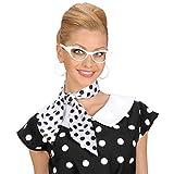 Gafas Rockabilly años 50 fiesta diva cristales rock diversión ojos de gato lentes retro