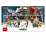 amiibo Legend Zelda Breath Wild 4 four Daruk Urbosa Mipha Revali Japan Import