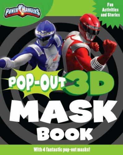 Disney Power Rangers Pop Out Mask Book (Disney Pop Out 3d Mask Book)