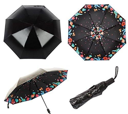 sucastlesimple-couche-vinyle-trois-fois-parapluie-floral-motif-parapluie-anti-ultraviolet-parapluie-