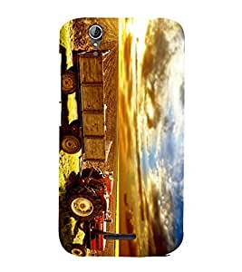 PRINTSHOPPII NATURE TRACTOR Back Case Cover for Acer Liquid Z630