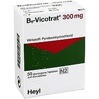 B6 VICOTRAT 300 mg überzogene Tabletten 50 St Überzogene Tabletten preisvergleich bei billige-tabletten.eu
