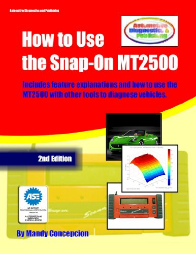 How to Use the Snap-On MT2500 (Automotive Equipment Book Series 1) (English Edition) (1 Scan-tool)