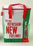 Kühltasche Coca Cola Retro 14 mit rotem Tragegurt