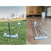 Putt improver Complete II, Putting Aid, Golf de ayuda de entrenamiento para, Indoor and Outdoor Package, Improve Your Putting
