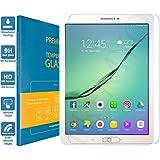 PREMYO cristal templado Tab S2 9.7. Protector cristal templado Galaxy Tab S2 9.7 con una dureza de 9H, bordes redondeados a 2,5D. Protector pantalla Galaxy Tab S2 9.7