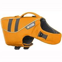 Ruffwear Gilet de sauvetage pour chien, Chien de très grande taille, Ajustement sur mesure, Taille : XL, Orange (Wave Orange), Float Coat, 45102-807L1