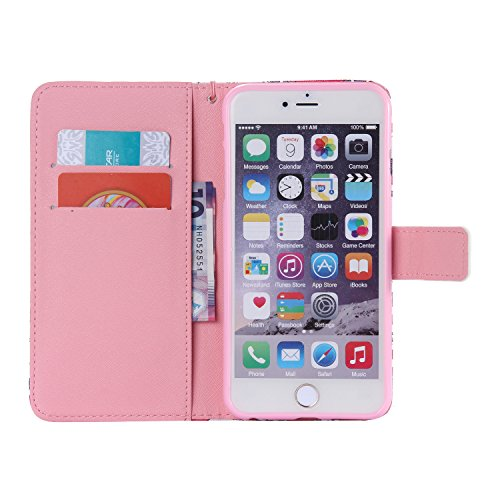 C-Super Mall-UK Apple iPhone 5 / 5S / SE-Fall, PU-Leder-Mappen-Standplatz -Schlag-Fall für Apple iPhone 5 / 5S / SE KT6031601
