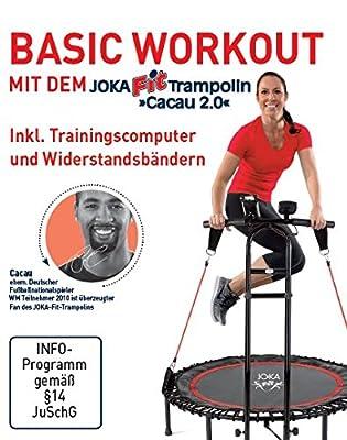 """Trainings-DVD, deutsch für Fitnesstrampoline """"Cacau"""" von JOKA FIT, Basic Workout, 16765 von JOKA"""