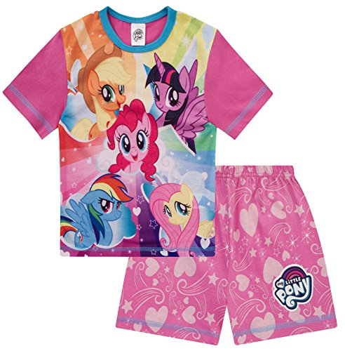 Short My Little Pony Girls Pyjamas Pjs Pyjama Nightwear MLP