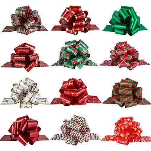 PintreeLand Lazos de Navidad para Regalo