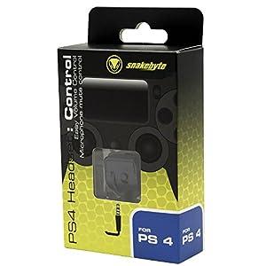 Snakebyte PS4 Headset Lautstärkenregler Adapter für Playstation 4 Controller / Gamepad inkl. Stummschaltung