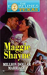 Million Dollar Marriage (Fortune's Heirs) by Maggie Shayne (2000-12-22)