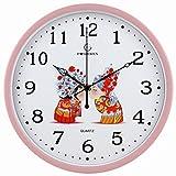 Caratteristiche del prodotto: Movimento al quarzo di alta qualità che garantisce tempo preciso e un movimento assolutamente silenzioso; Grandi numeri arabi colorati, quadrante con vetro frontale per leggere facilmente il tempo da qualsiasi punto dell...