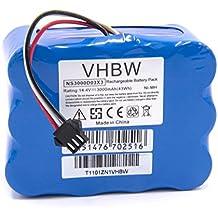 vhbw NiMH batería 3000mAh (14.4V) para robot limpiasuelos robot autónomo de limpieza H