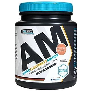 AMSPORT Aminoelektrolytmatrix Pulver 600g Dose Eistee-Pfirsich