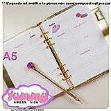 A5 - REFILL handmade per agende planner Ricette Kawaii