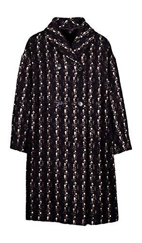 Aspesi Damen-Mantel schwarz mit Thermore®-Isolierung 1