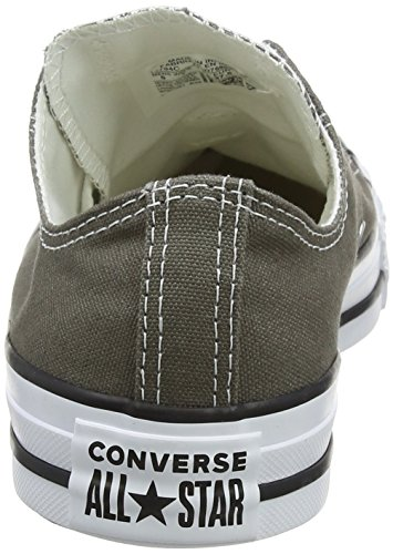Converse Unisex-adult Chuck Taylor All Star Season Ox Trainers, Grey, 3 Uk