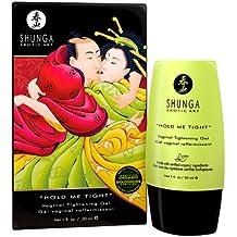 Shunga Abrázame Fuerte Gel Estrechador, Color Negro / Verde - 30 ml