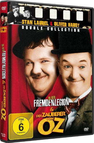 (Stan Laurel & Oliver Hardy - Double Collection: In der Fremdenlegion & Der Zauberer von OZ (DVD))