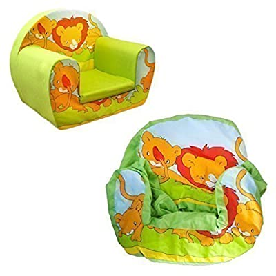 Ready Steady Bed Savannah Lion Cover for Children's Foam Armchair