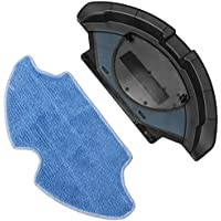 Accesorio friega suelos con mopa de microfibra. Robot aspirador compatible: Conga, Conga Slim