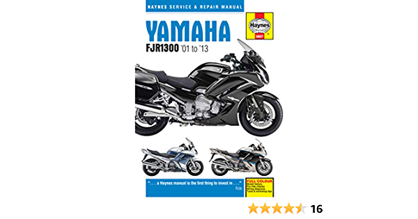 Yamaha Fjr1300 01 13 Haynes Service And Repair Manual Coombs Matthew Fremdsprachige Bücher