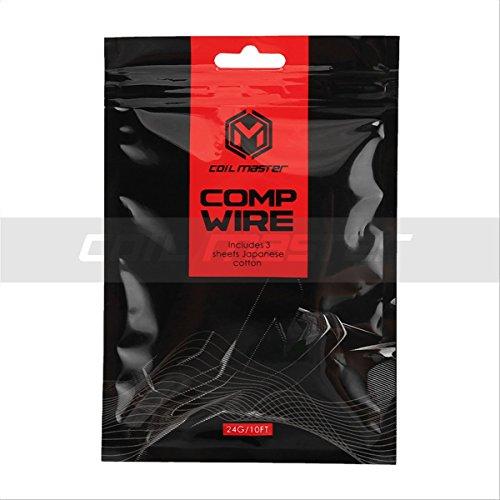 Vapor Comp (Coil Master Comp Wire 26AWG, der ultimative Wickeldraht für Hochleistungsverdampfer)