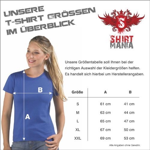 Damen T-Shirt - EVOLUTION - Tauchen Sport FUN KULT SHIRT S-XXL Deep black - gelb