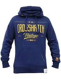 Herren Kapuzenpullover Sweatshirt By Crosshatch Fleecefutter