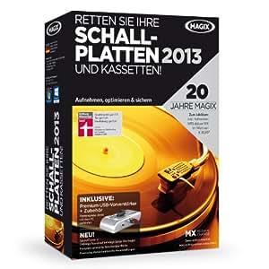 MAGIX Retten Sie Ihre Schallplatten & Kassetten 2013 (Jubiläumsaktion inkl. MP3 deluxe MX)