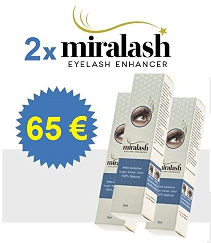 2x MIralash Eyelash Enhancer