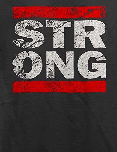 Strong Vintage T-Shirt Grau