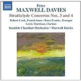 Maxwell Davies: Strathclyde Concertos Nos 3/ 4 [Peter Maxwell Davies] [Naxos: 8572353]