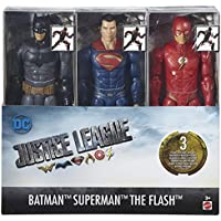 DC Justice League 12 Inch 3 Pack - Batman, Superman and The Flash Figures