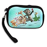 Launge My Talking Tom Coin Purse Wallet Handbag