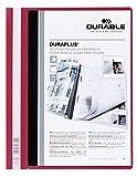 DURABLE Hunke & Jochheim Angebotshefter DURAPLUS®, strapazierfähige Folie, DIN A4, rot