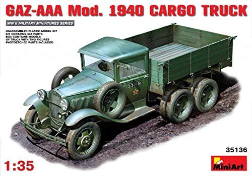 MINIART Echelle 1 : 35 cm gaz-AAA Mod 1940 Cargo Truck Kit de modèle en Plastique