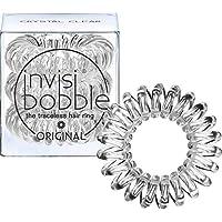 Invisibobble Accessoire de Coiffeur Élastique pour Cheveux Qui ne Laisse pas de Traces Crystal Clear