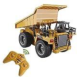 likeitwell 2.4G 6-Kanal-Vollfunktions-LKW 1:18 ferngesteuertes Kipper-Baufahrzeug-Spielzeug für Kinder