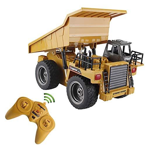 likeitwell 2.4G 6-Kanal-Vollfunktions-LKW 1:18 ferngesteuertes Kipper-Baufahrzeug-Spielzeug für Kinder*