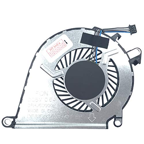 Lüfter/Kühler Fan kompatibel mit HP Omen 15-ax003ng, 15-ax008ng, 15-ax200ng, 15-ax206ng, 15-ax004ng, 15-ax009ng, 15-ax201ng, 15-ax207ng, 15-ax032NG, 15-ax204ng -