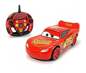 Dickie Coche radiocontrol Rayo McQueen de Cars 3 con función derrape (Dickie 3086005)