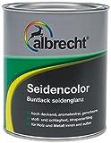 Albrecht Seidencolor Buntlack seidenglanz 750 ml, weiß, 3400505850901000750