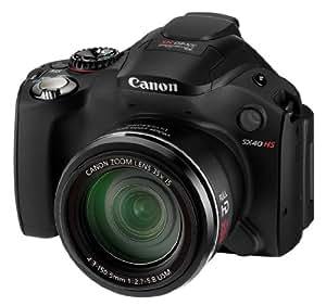 Canon PowerShot SX40 HS Appareil photo Bridge 12,1 Mpix Noir